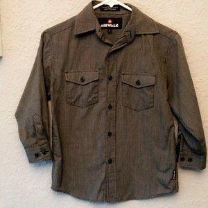 AIRWALK Boys Long Sleeve Button Down Shirt. Size 8